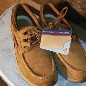 Rugged shark Atlantic boat shoes